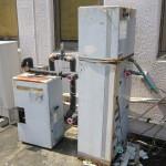 美容室の給湯器電気温水器