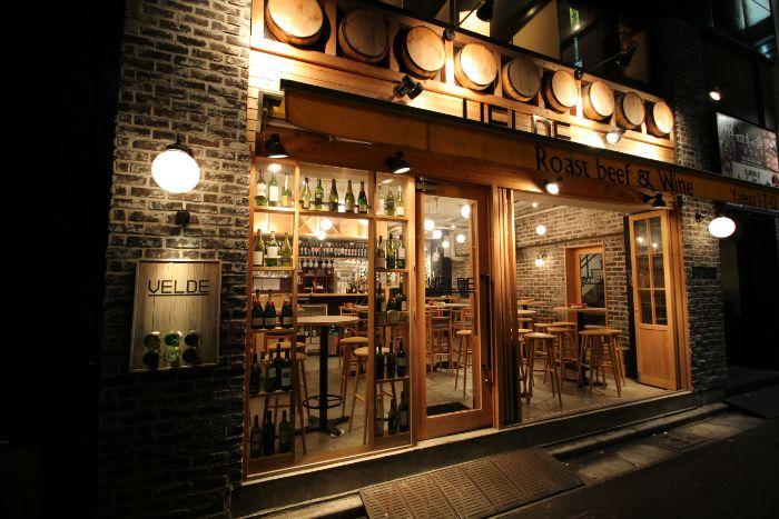 八重洲口の飲食店の内装デザイン