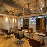 横浜のヘアサロンの内装デザイン