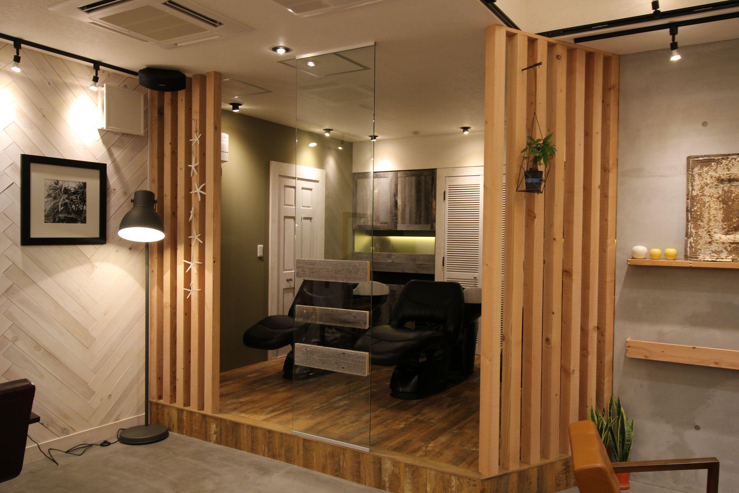湘南藤沢の美容室AUBEの実例