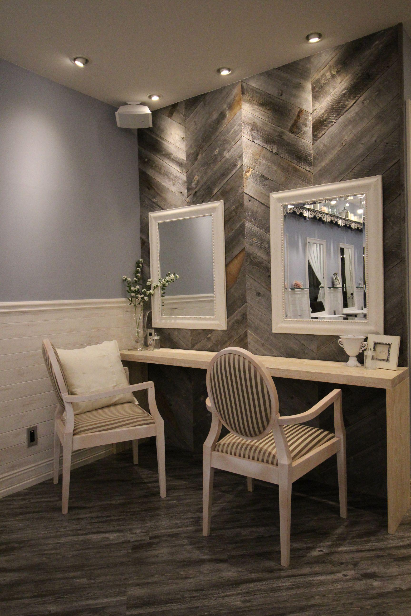 美容室AUBE旭川の内装デザイン