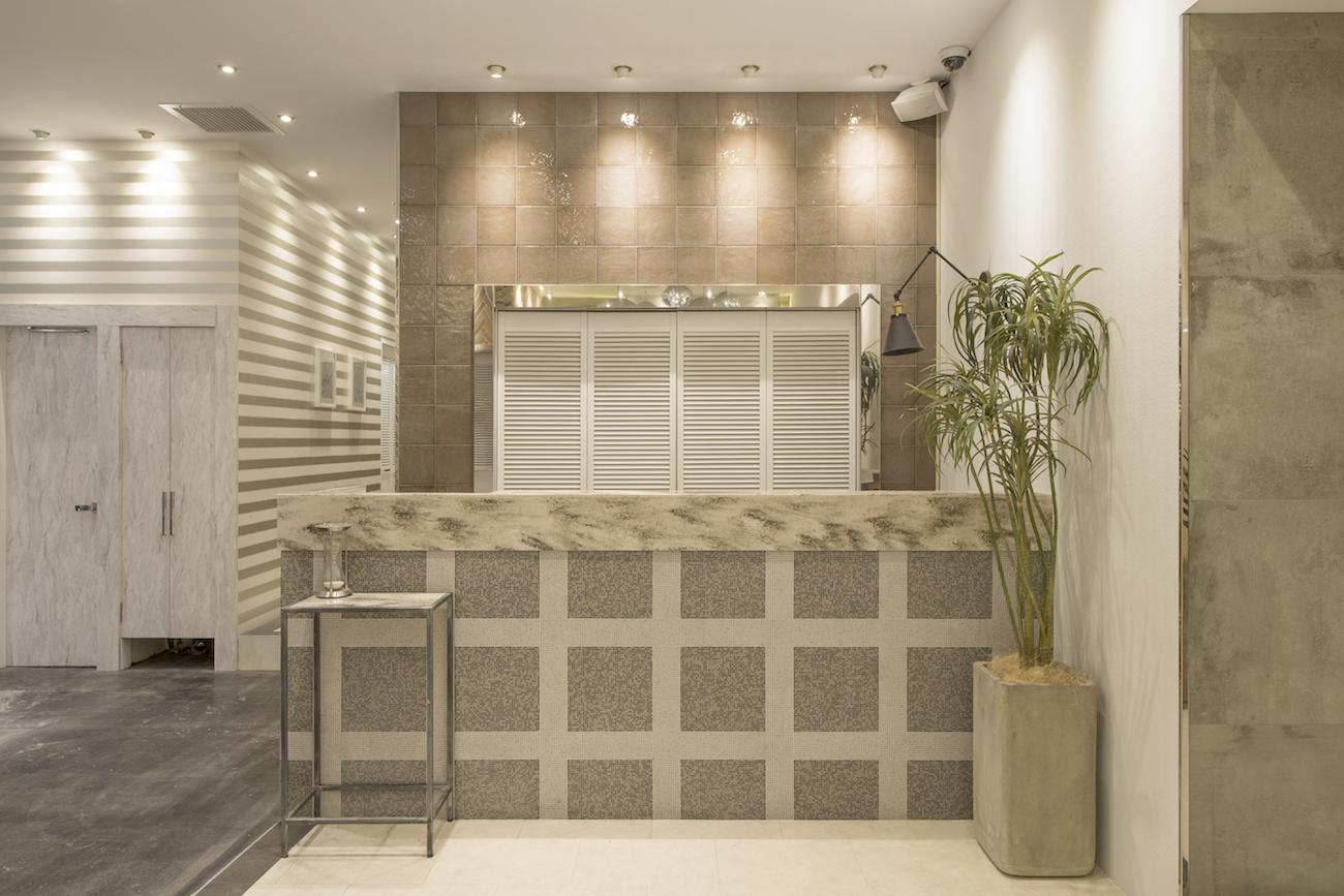 おしゃれな美容室(ヘアサロン)の店舗内装デザイン 大阪