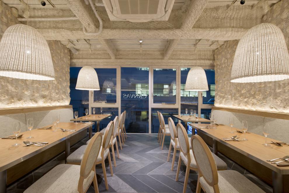 青葉台 CANVAS レストラン 店舗内装デザイン
