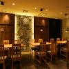 溝の口にある「和モダン」な飲食店の店舗内装デザインを手がけました