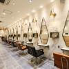 【実例・美容室】大分 コンテンポラリーでCHICな美容室の内装デザイン