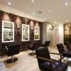【実例・美容室】福岡・福岡市のブルックリンスタイルなヘアサロンの内装デザイン